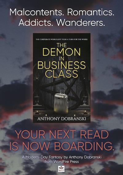 Demon banner detail